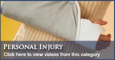 Orlando Personal Injury Law Videos